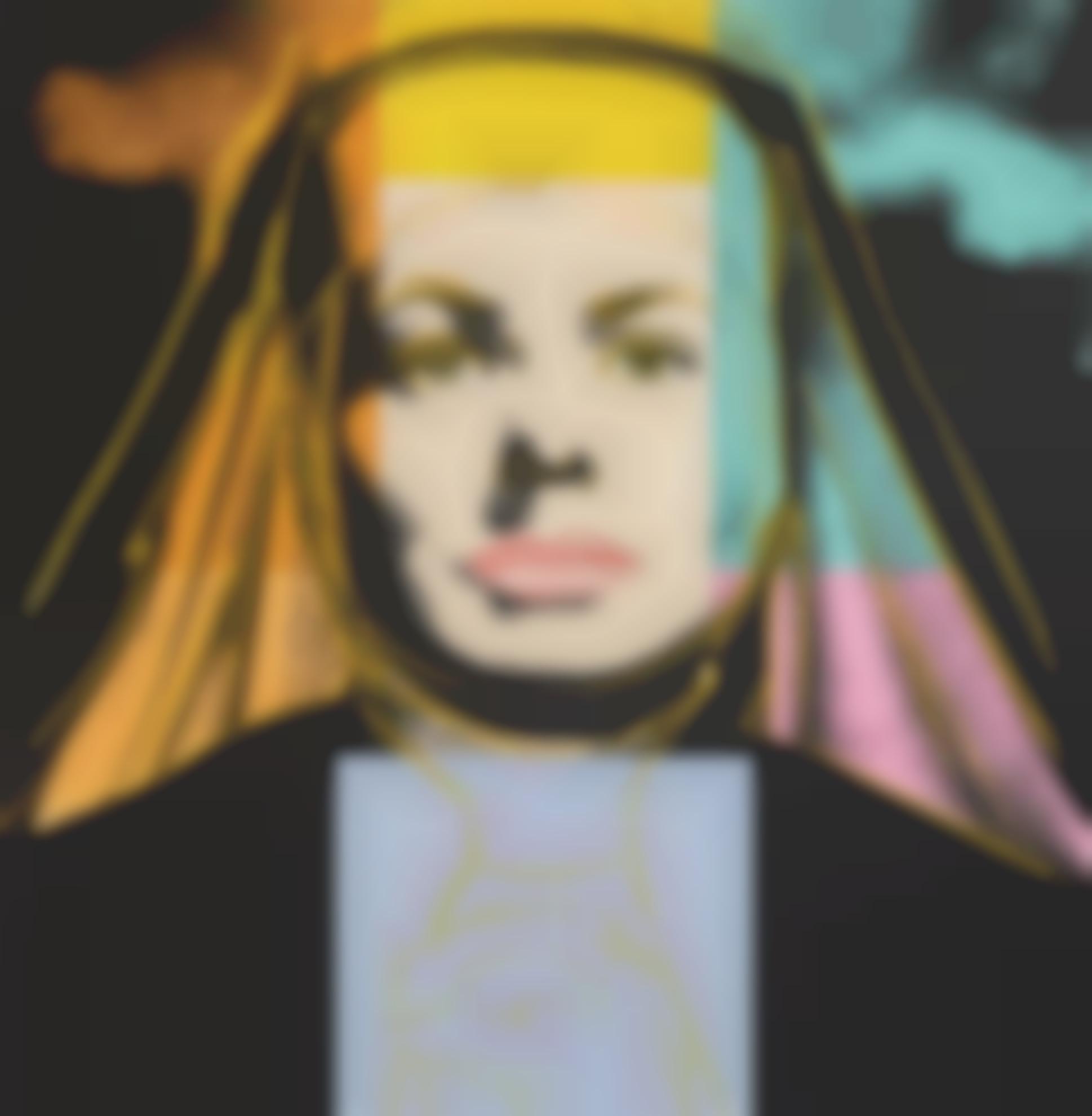 Andy Warhol-The Nun (F. & S. II.314)-1983