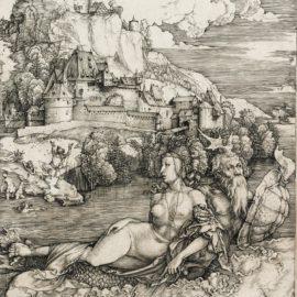 Albrecht Durer-The Sea Monster (B. 71; M., Holl. 66)-1498