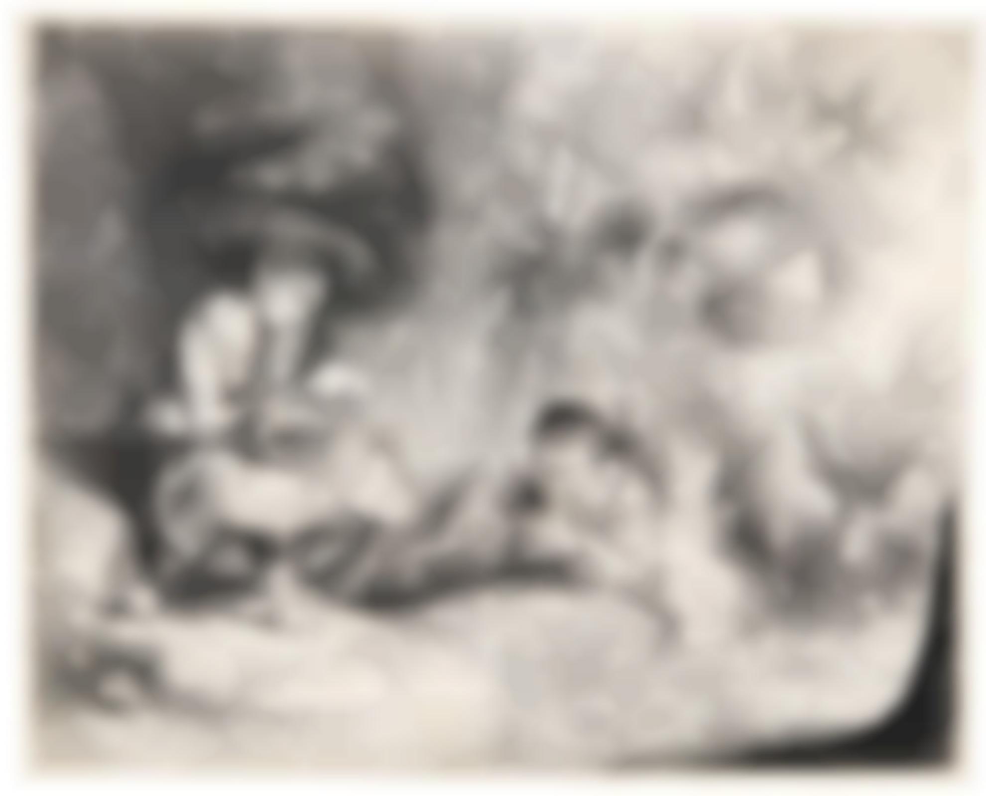 Rembrandt van Rijn-The Flute Player (Het Uilespiegeltje) (B., Holl. 188; New Holl. 211; H. 200)-1642