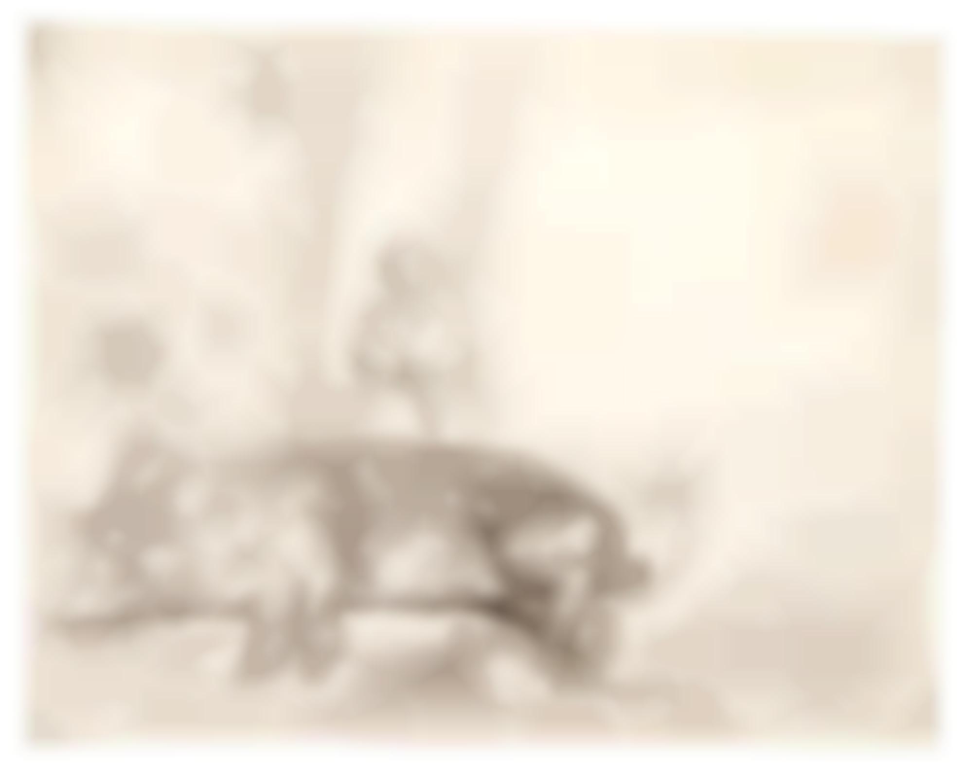 Rembrandt van Rijn-The Hog (B., Holl. 157; New Holl. 215; H. 204)-1643