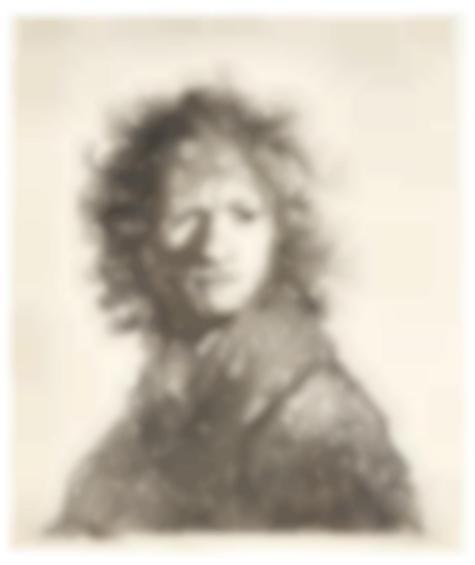 Rembrandt van Rijn-Self-Portrait, Frowning: Bust (B., Holl. 10; New Holl. 68; H. 30)-1630