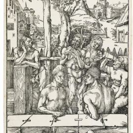 Albrecht Durer-The Bath House (B. 128; M., Holl. 266)-1497