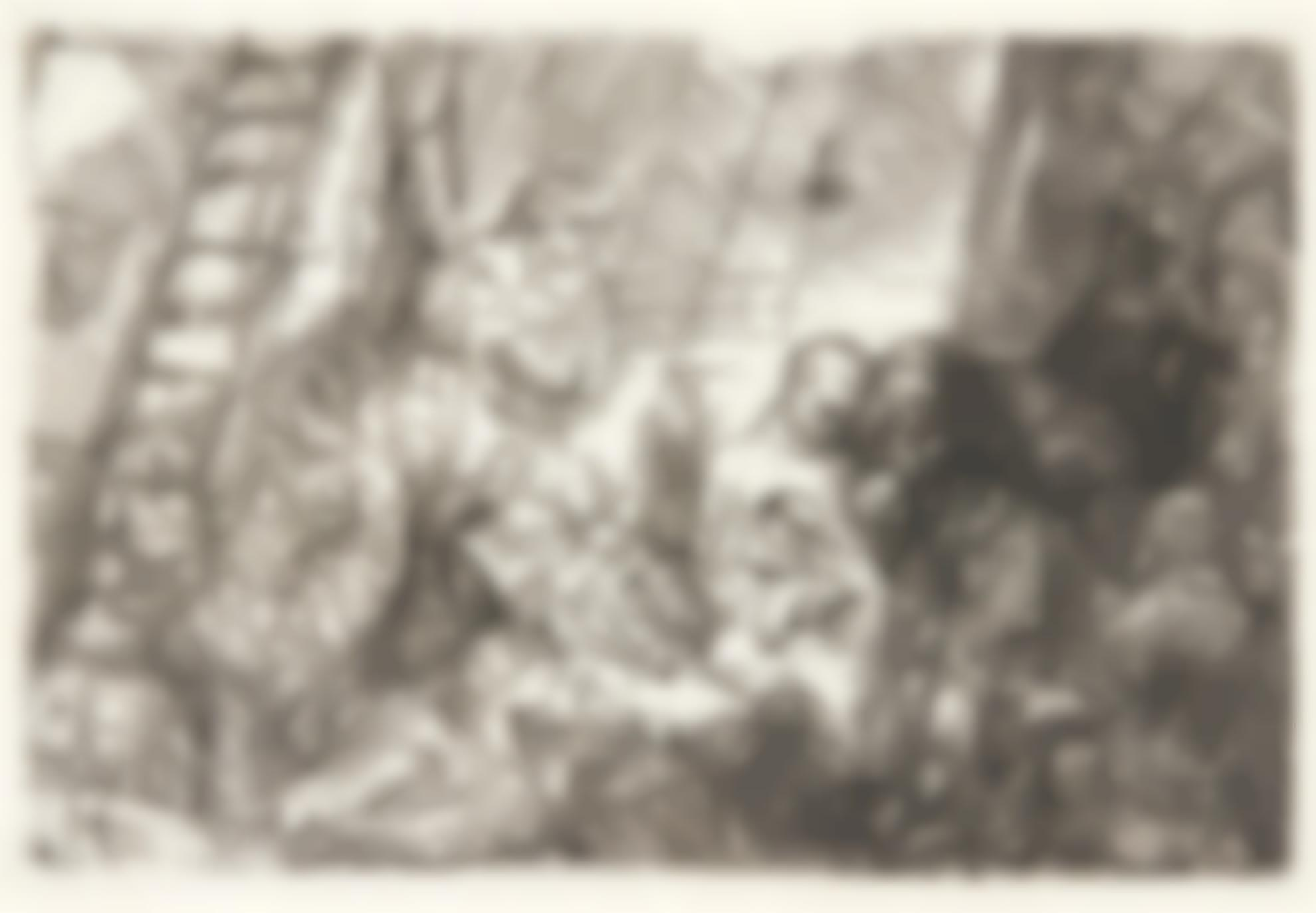 Rembrandt van Rijn-(i) The Circumcision In The Stable (B., Holl. 47; New Holl. 280; H. 274); (ii) The Adoration of the Shepherds: with the Lamp (New Holl. 279)-1654