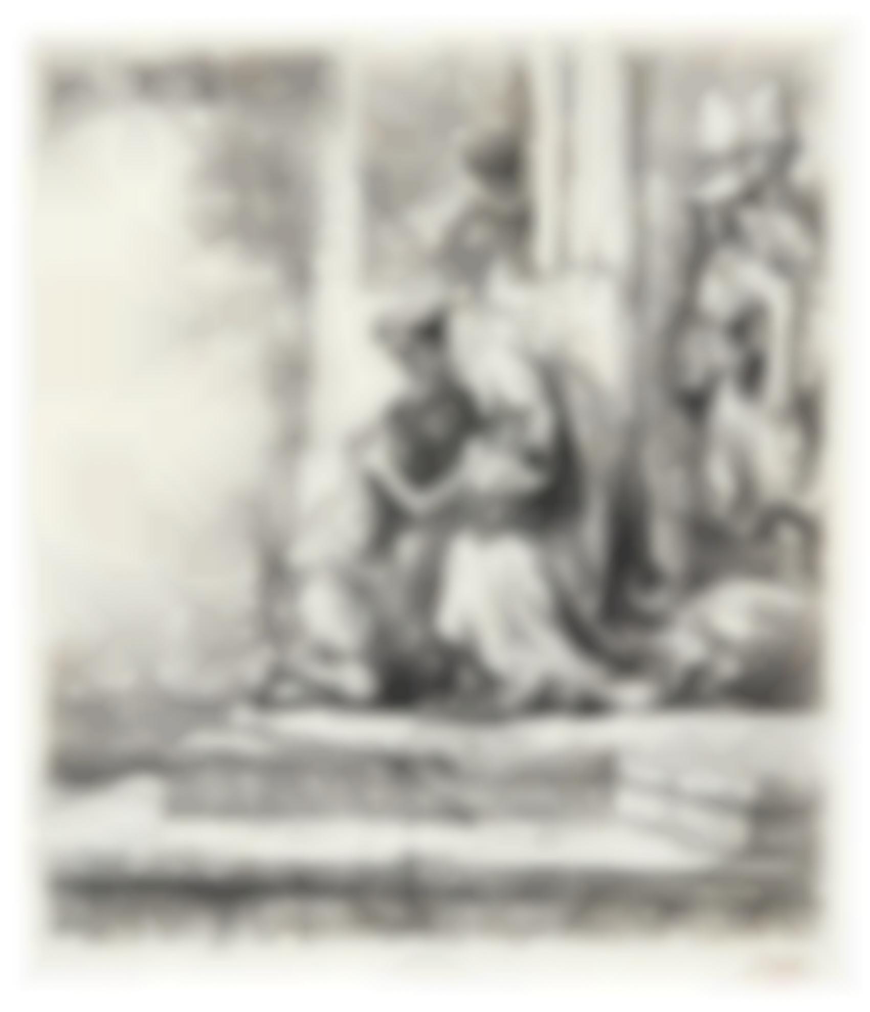 Rembrandt van Rijn-The Return Of The Prodigal Son (B., Holl. 91; New Holl. 159; H. 147)-1636