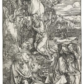 Albrecht Durer-Agony In The Garden; The Betrayal Of Christ; And Christ Washing St. Peters Feet (B. 6, 7, 25; M., Holl. 115, 116, 134)-1497