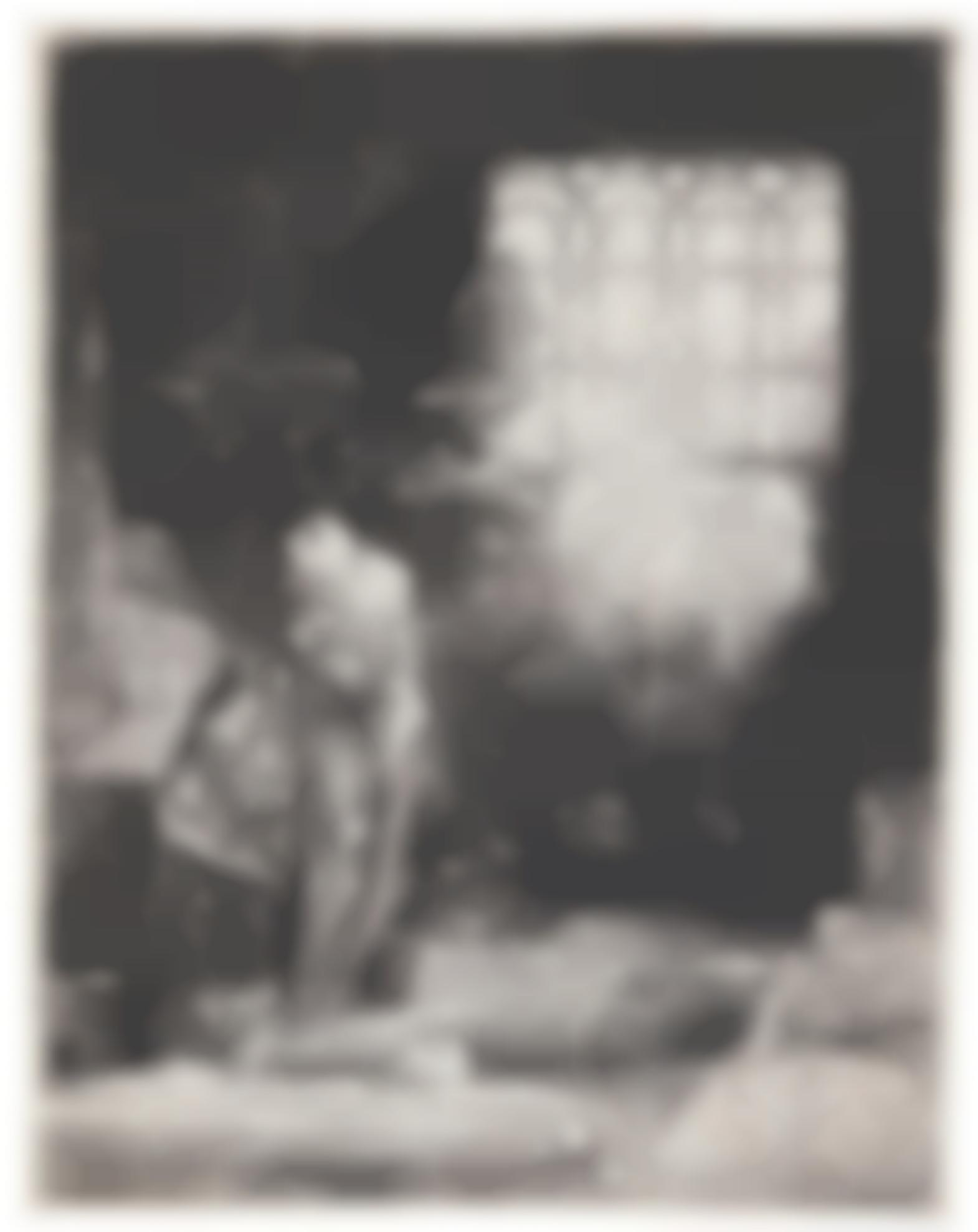 Rembrandt van Rijn-(i) A Scholar In His Study (Faust) (B., Holl., New Holl. 270; H. 260); (ii) Menasseh Ben Israel (New Holl. 156); (iii) Clement de Jonghe, Printseller (New Holl. 264); (iv) Pieter Haaringh ('Young Haaringh') (New Holl. 292); (v) Bald Headed Man in Profile Right: Small Bust, The Artist's Father (?) (New Holl. 61)-1652