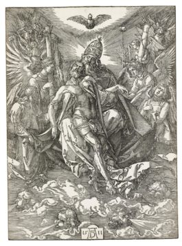 Albrecht Durer-The Holy Trinity; And Ecce Homo - The Presentation Of Christ (B. 122, 9; M., Holl. 118, 187); B. 9-1511
