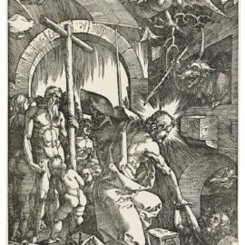 Albrecht Durer-The Harrowing Of Hell (Christ In Limbo) (B. 14; M., Holl. 121)-1510