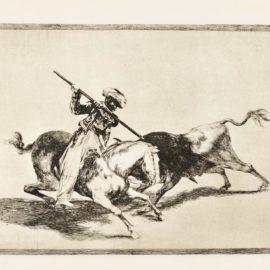 Francisco de Goya-La Tauromaquia (D. 224-263; H. 204-243)-1816
