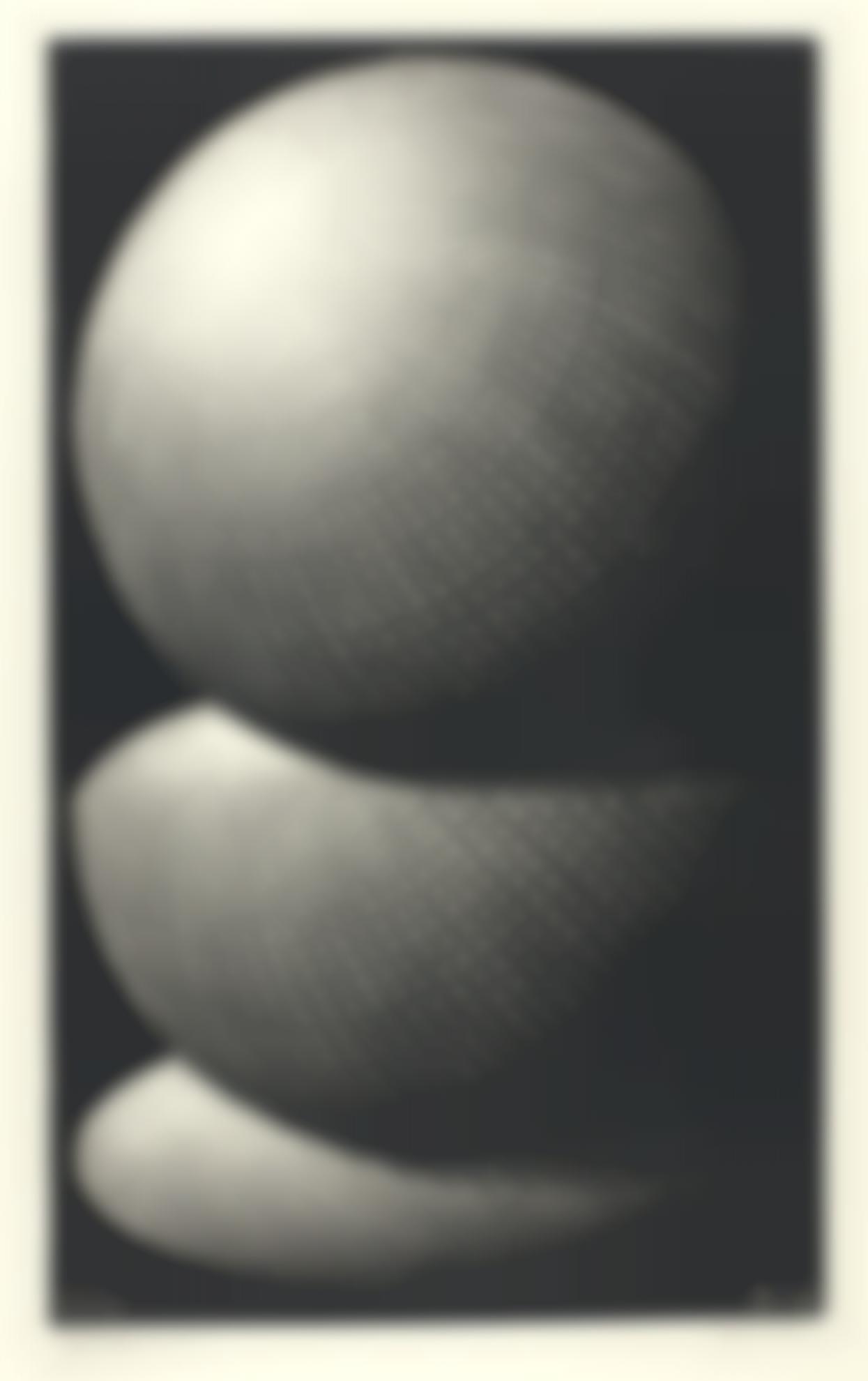 Maurits Cornelis Escher-Three Spheres I (Bool/Kist/Locher/Wierda 336)-1945