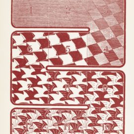 Maurits Cornelis Escher-Regular Division Of The Plane (B./K./L./W. 416-21)-1958