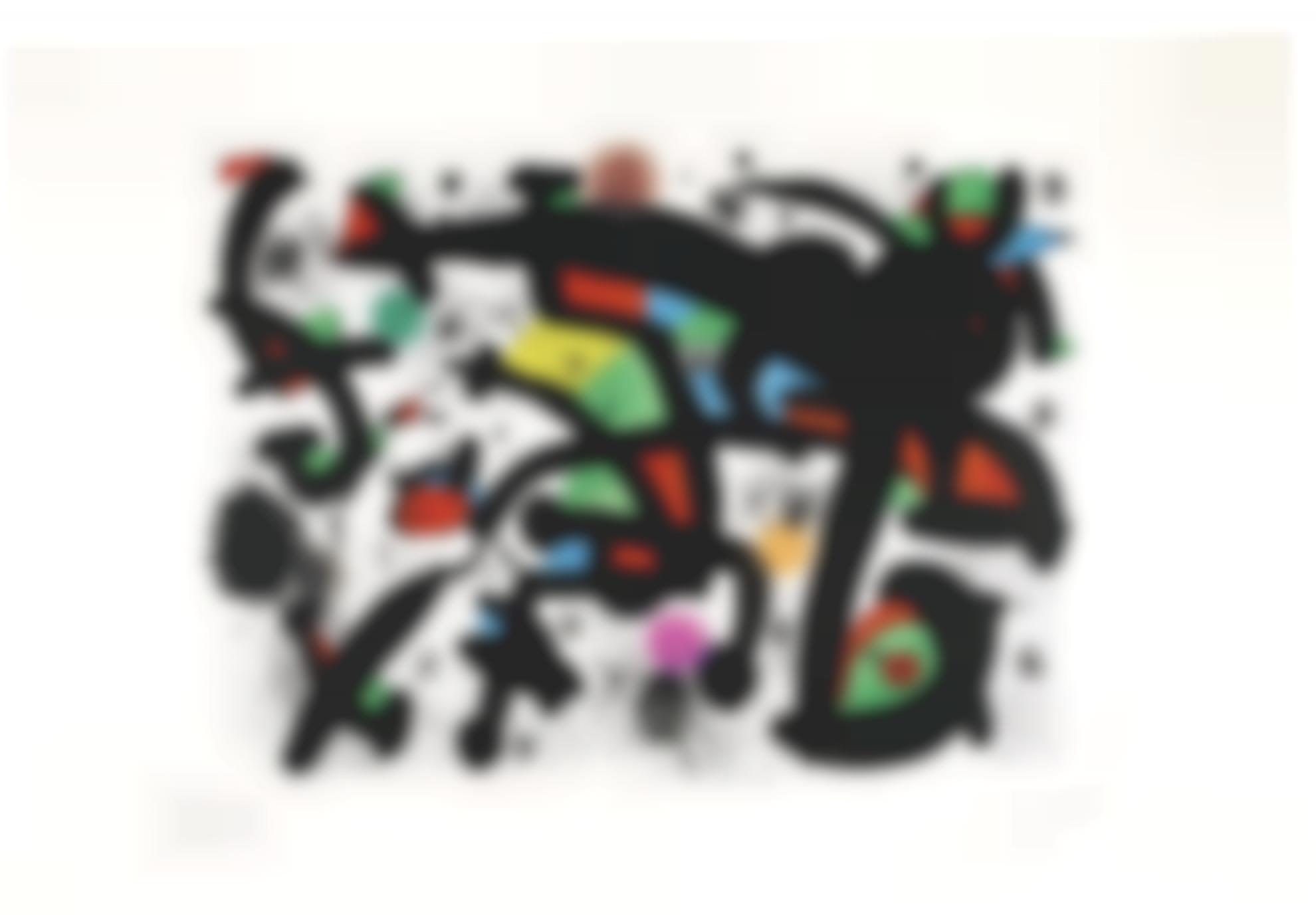 Joan Miro-La Premiere Nuit Du Printemps (Mourlot 1244)-1981
