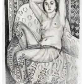 Henri Matisse-Odalisque Assise A La Jupe De Tulle (D. 443)-1924