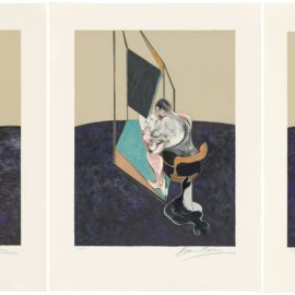 Francis Bacon-Three Studies Of The Male Back-1987
