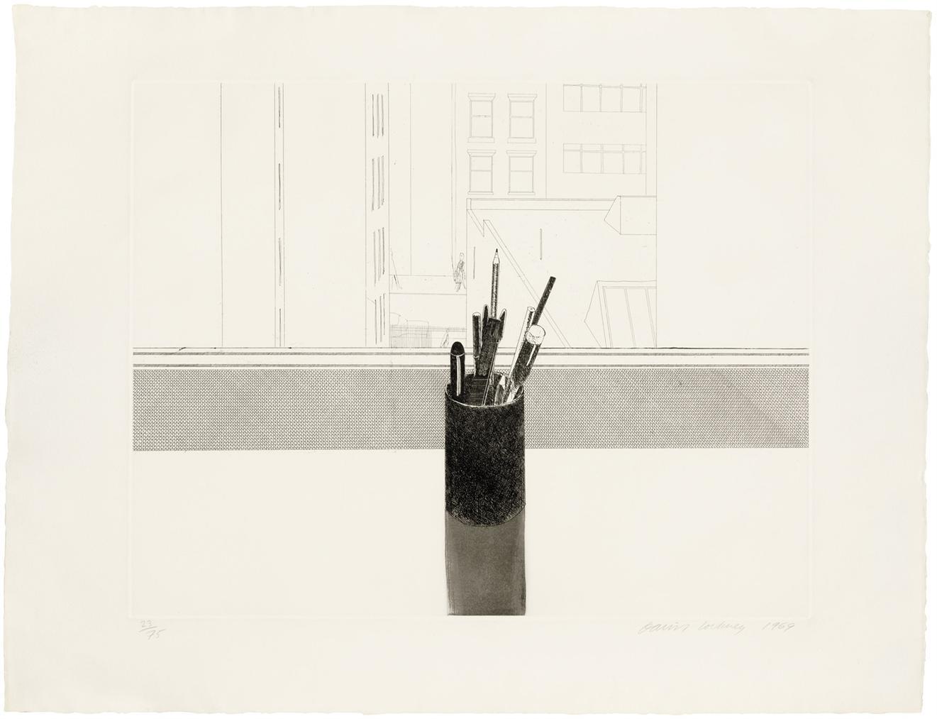 David Hockney-Still Life-1969