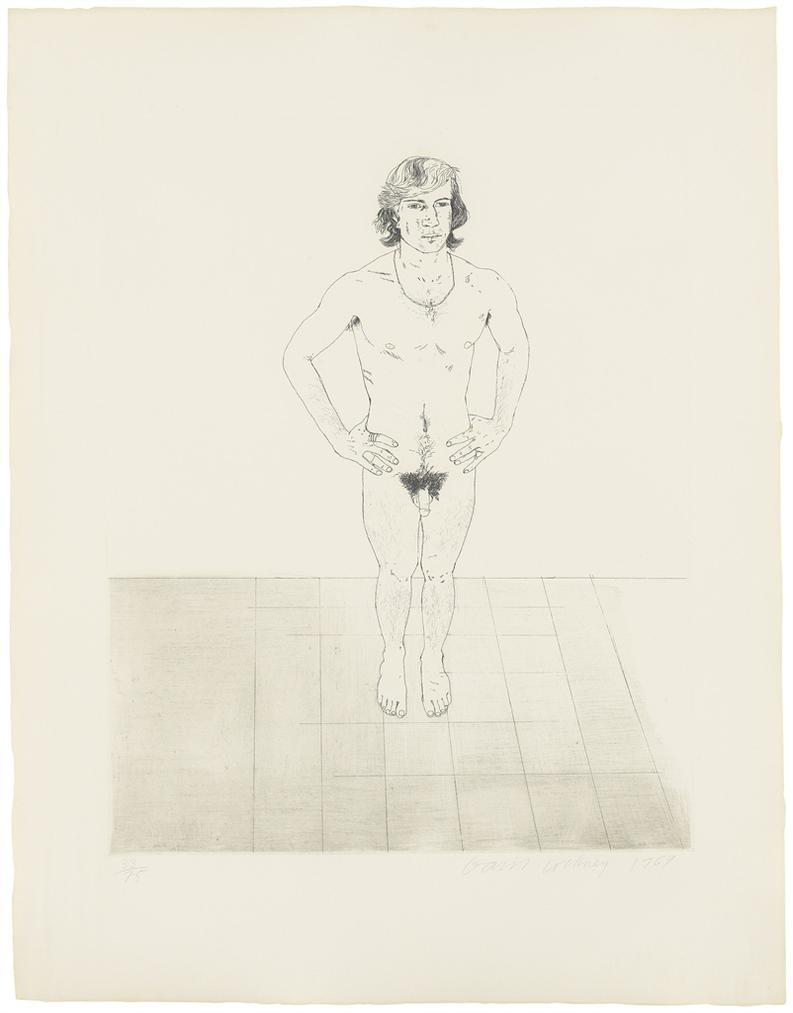 David Hockney-Peter-1969