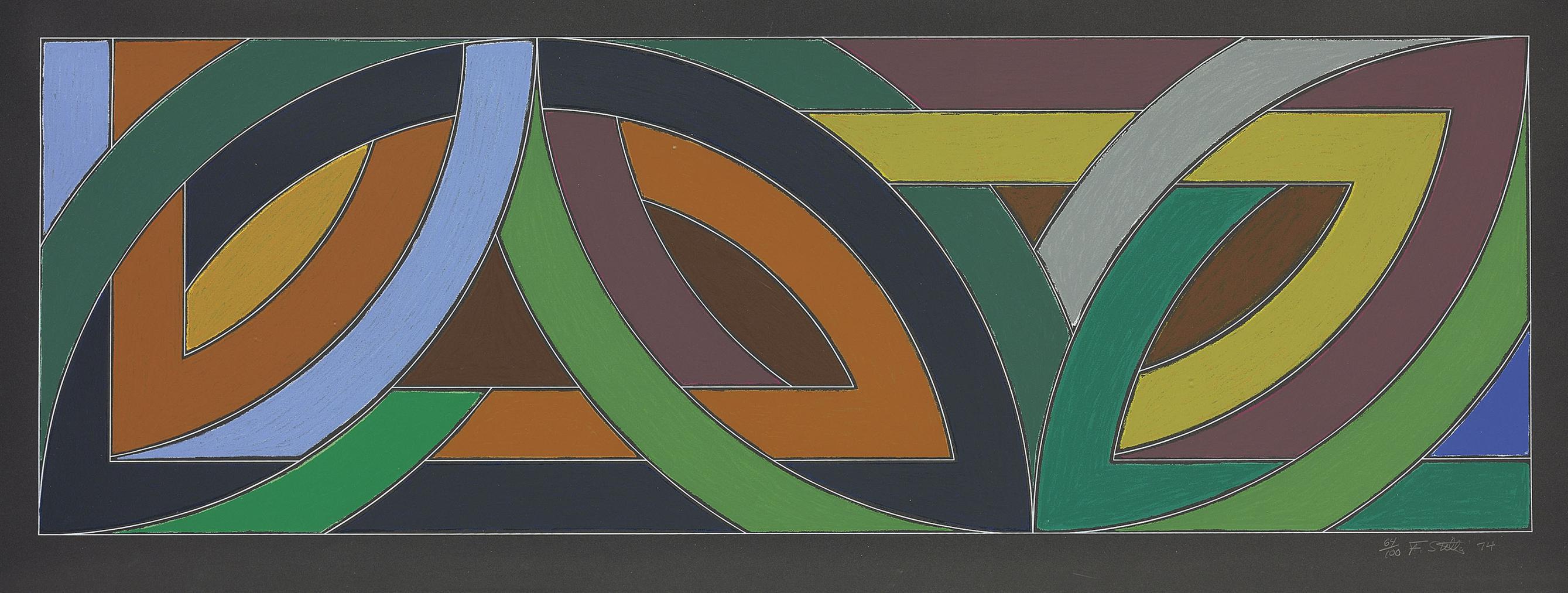 Frank Stella-York Factory II-1974