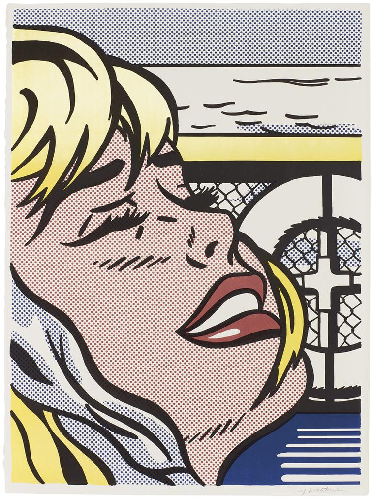 Roy Lichtenstein-Shipboard Girl-1965
