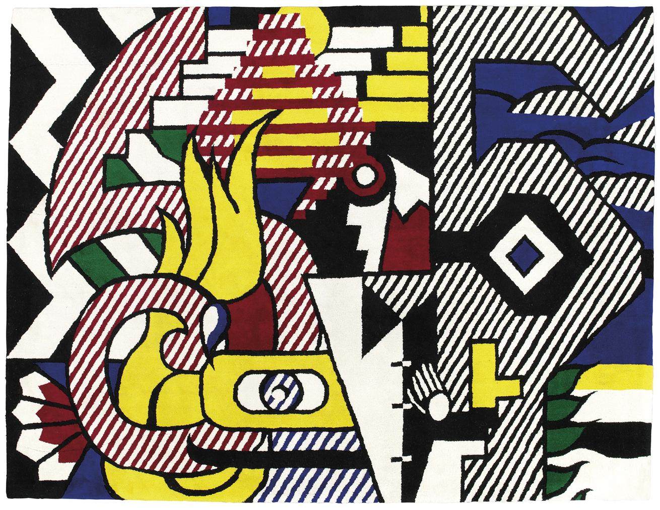 Roy Lichtenstein-After Roy Lichtenstein - Amerind Landscape-1979