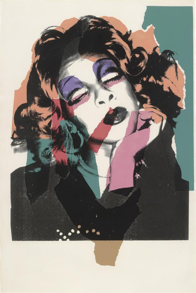 Andy Warhol-One Plate, From: Ladies And Gentlemen-1975