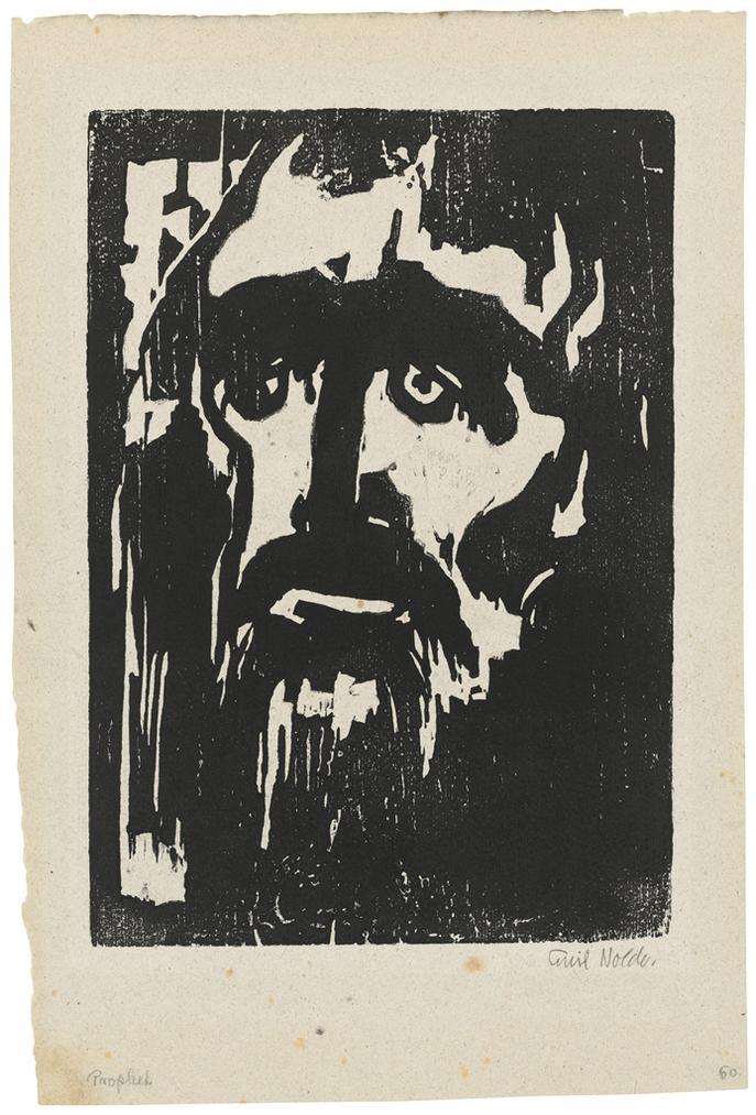 Emil Nolde-Prophet-1912