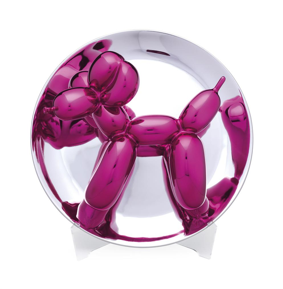 Jeff Koons-Balloon Dog (Magenta)-2015