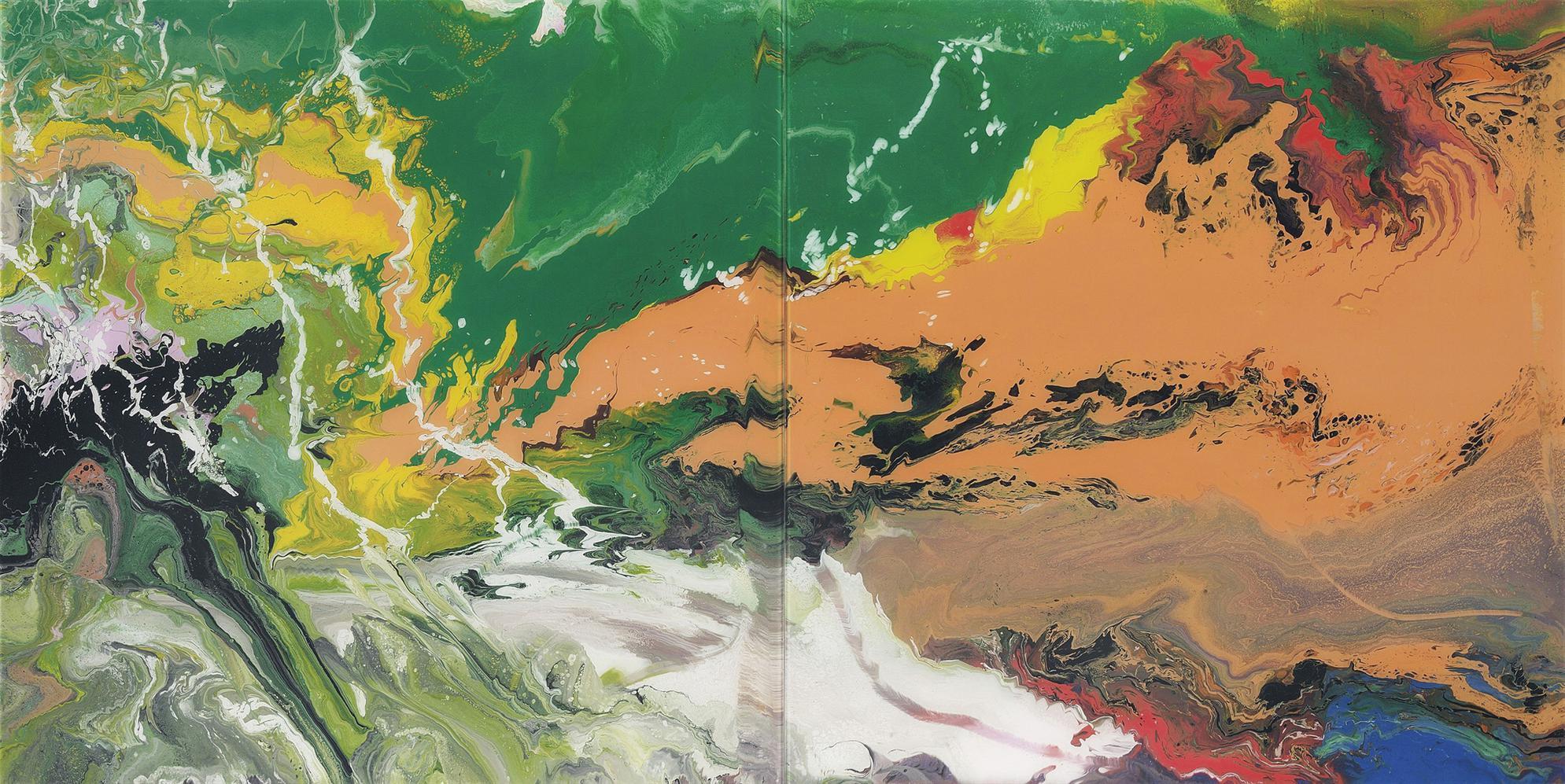 Gerhard Richter-Flow (P15)-2016