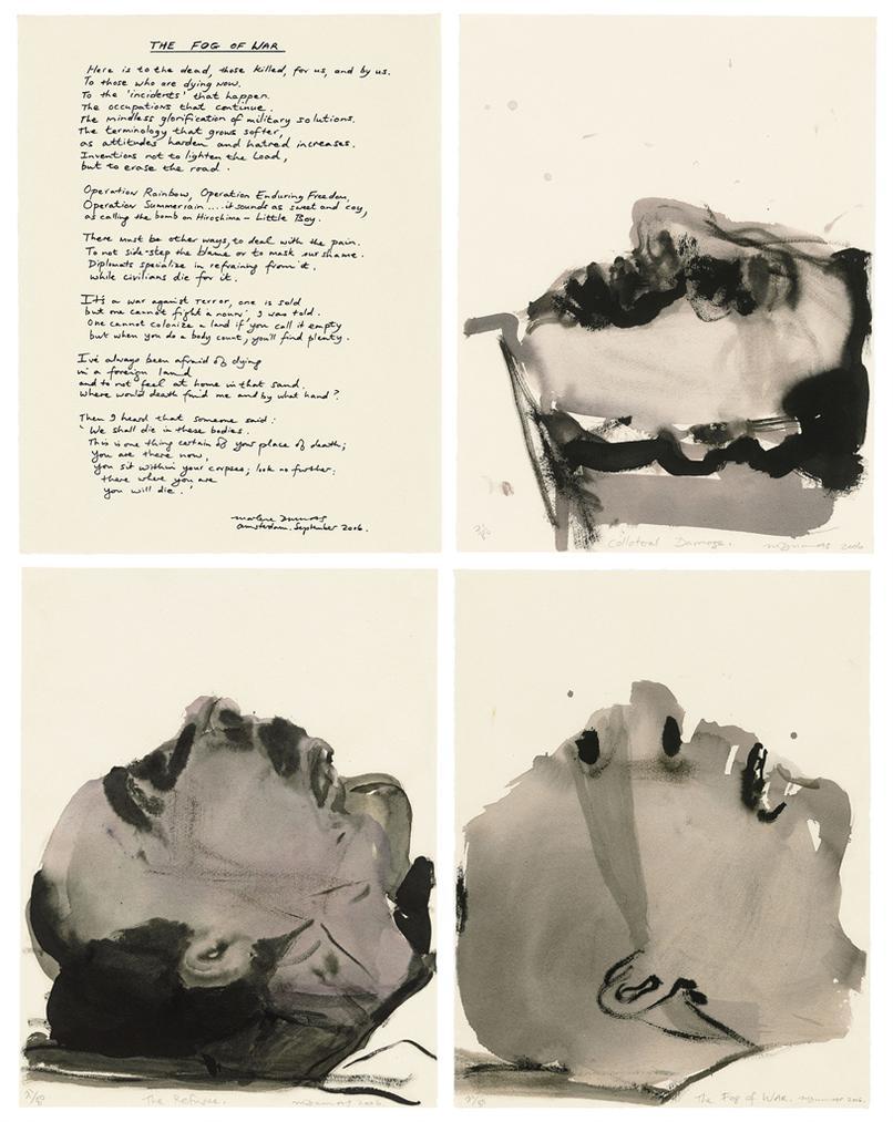Marlene Dumas-The Fog Of War-2006