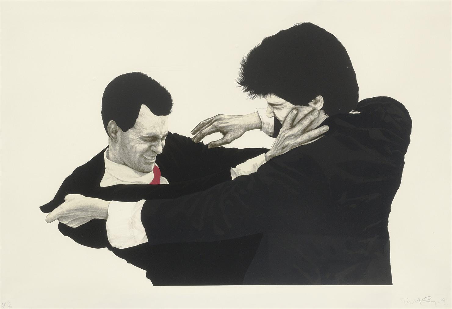 Robert Longo-Frank & Glenn-1991