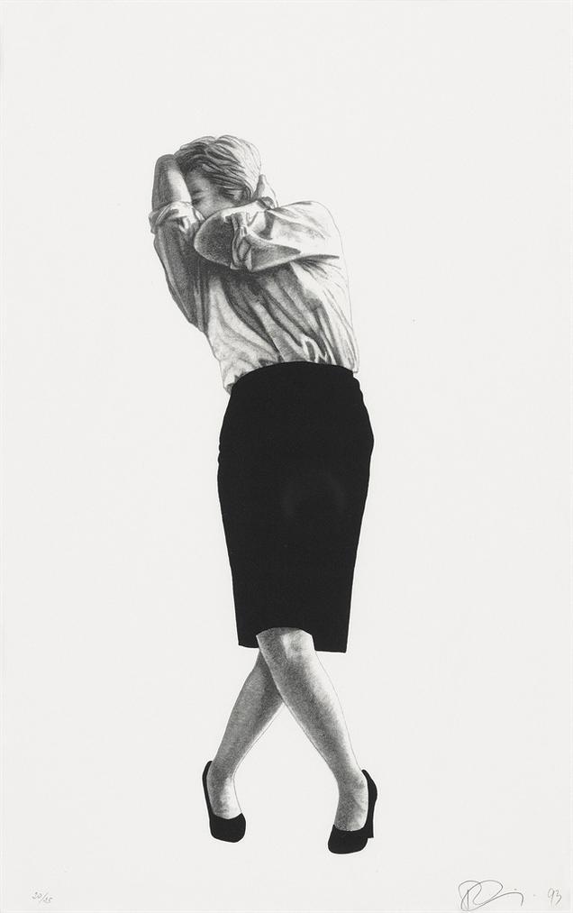 Robert Longo-Cindy-1993
