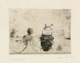 James Ensor-Insectes Singuliers (Strange Insects)-1888