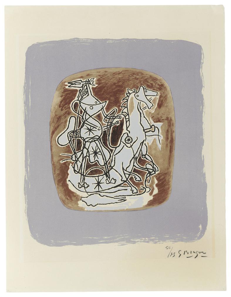 Georges Braque-Helios VI-1948