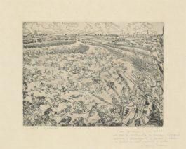 James Ensor-Bataille Des Eperons Dor (Battle Of The Golden Spurs)-1895