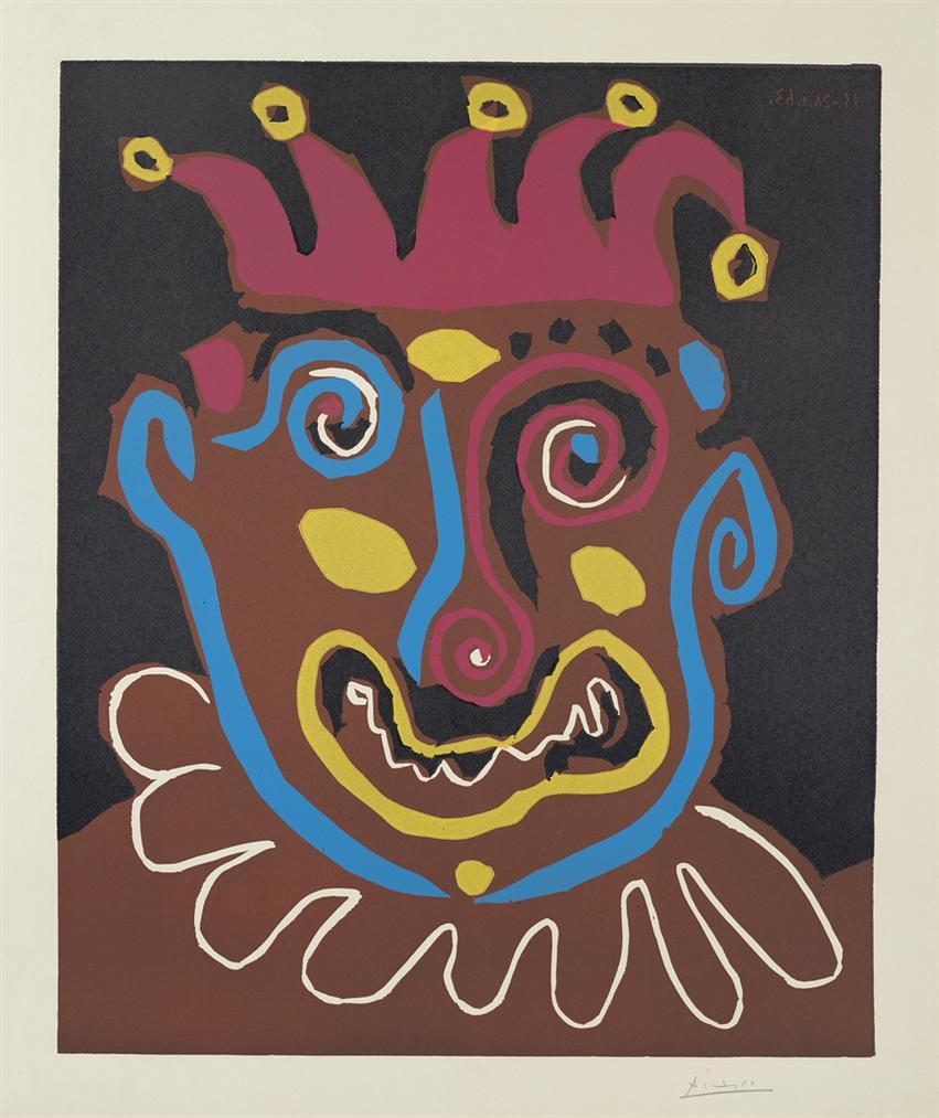 Pablo Picasso-Le Vieux Roi-1963