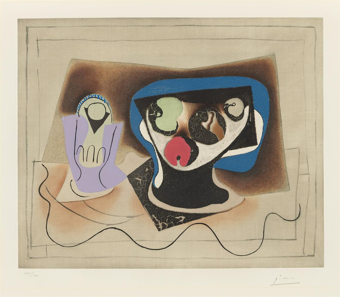 Pablo Picasso-After Pablo Picasso - Le Verre Dabsinthe-1972