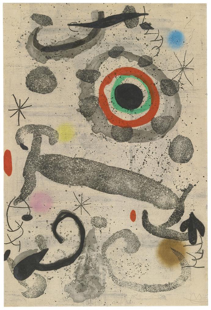 Joan Miro-Lastre Du Marecage-1967