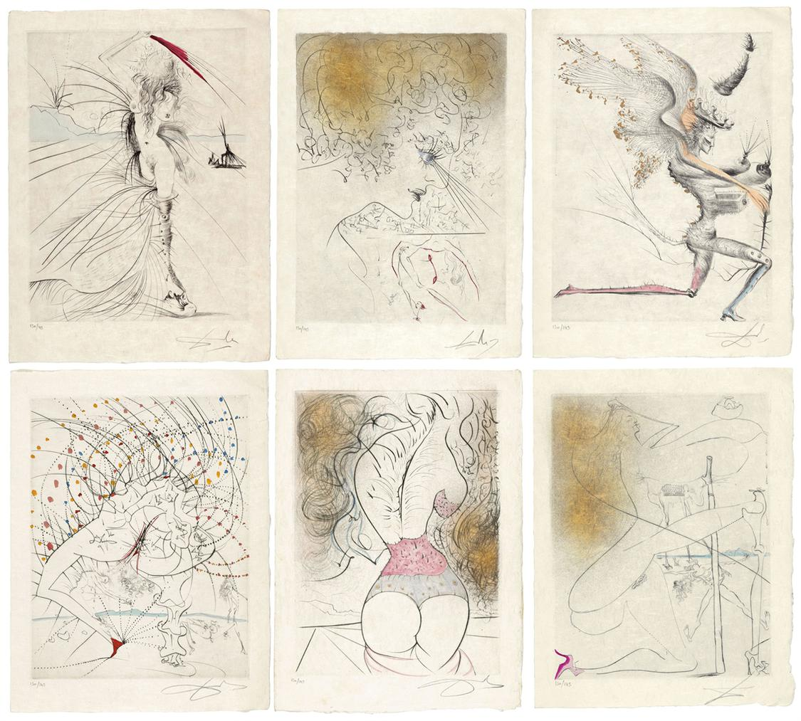 Salvador Dali-Venus Aux Fourrures-1969