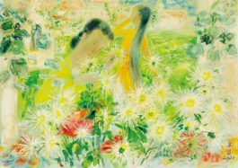 Le Pho-Deux Femmes Dans Le Jardin-1970