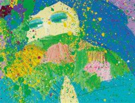 Walasse Ting-Spring In My Eyes-1986