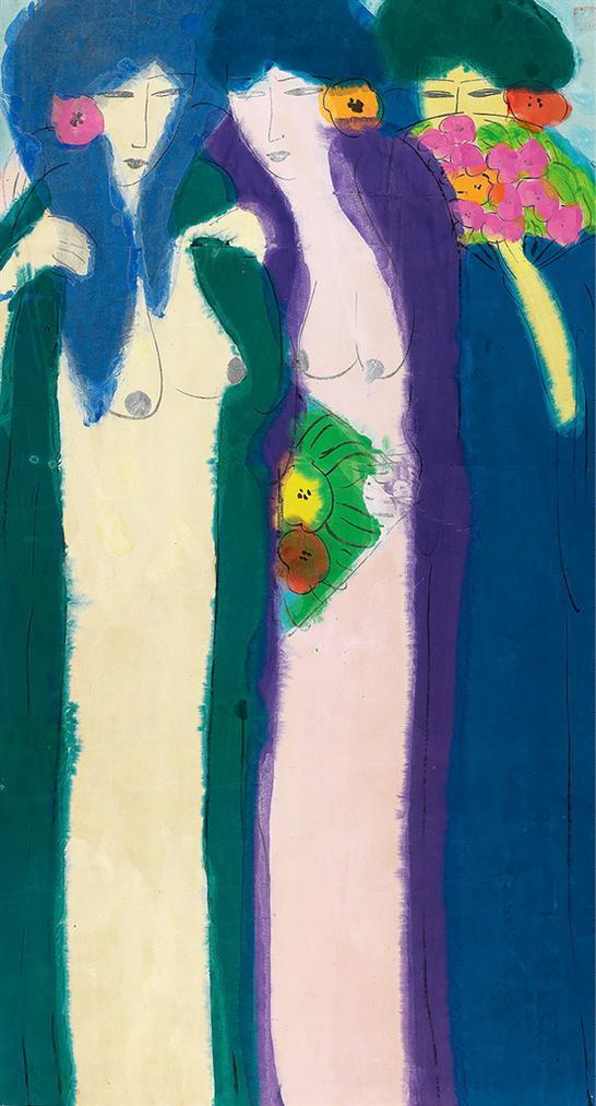 Walasse Ting-Untitled-1990