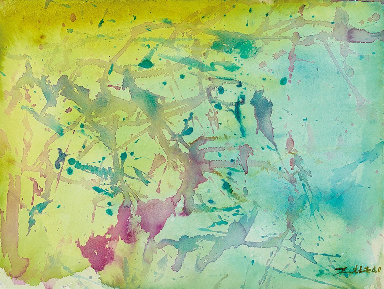 Zao Wou-Ki-Untitled-2005