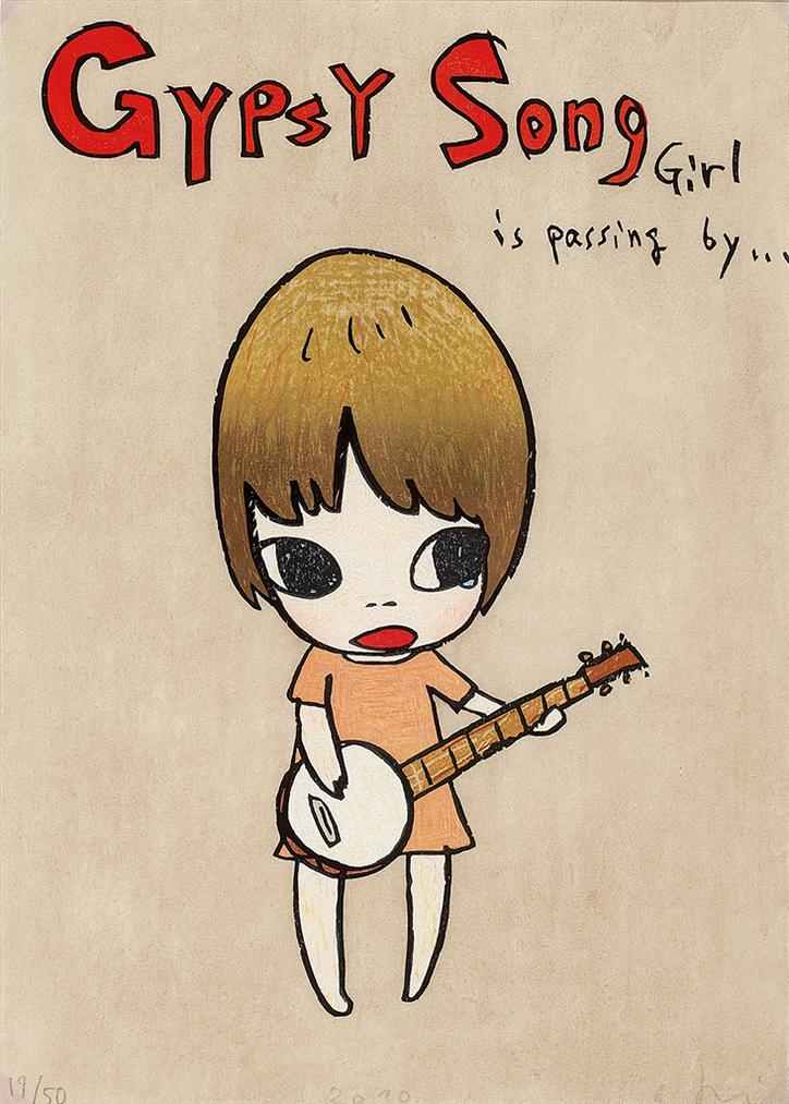 Yoshitomo Nara-Gypsy Song-