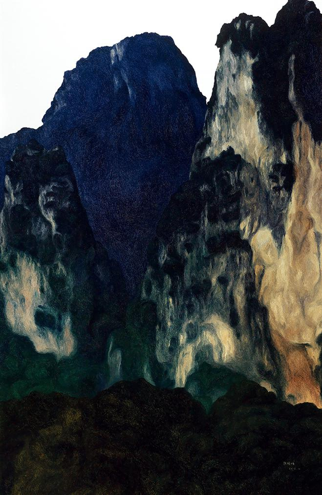 Zhang Wanqing - Lonely Hills-2016