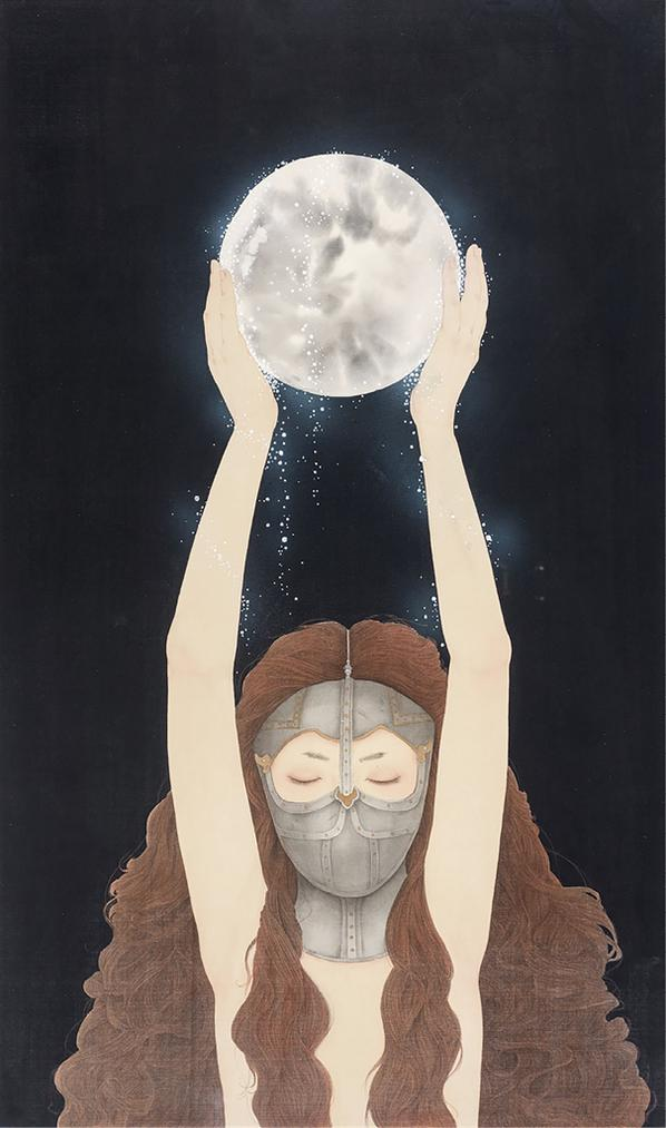 Zhou Xue-Cold Moon-2018