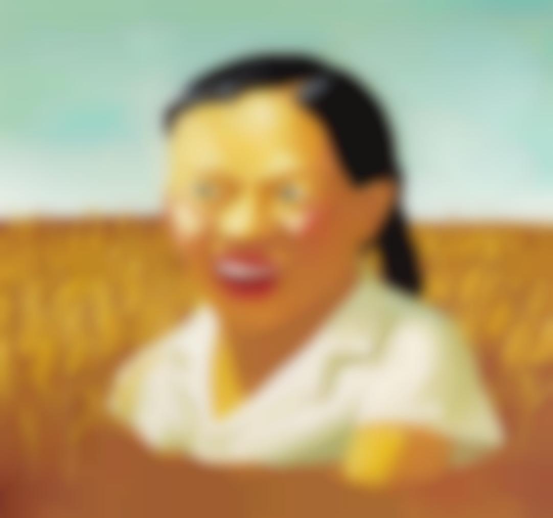 Yang Maoyuan-Pige I Majsmark (Girl In A Cornfield)-1998