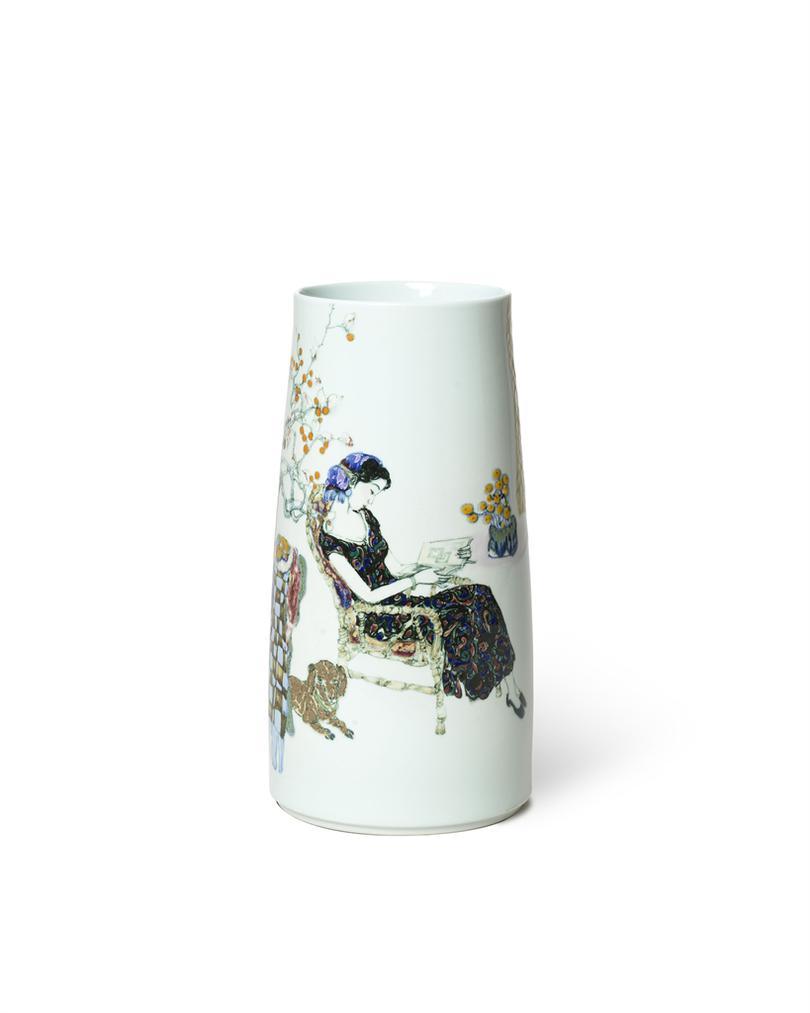 Le Longyao - A Glaze Vase Duni-2016