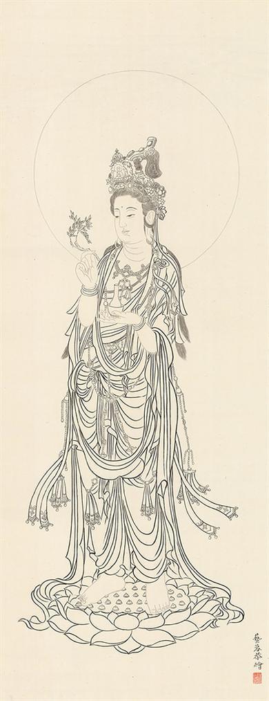 Zhang Yirong - Compassionate Guanyin-2015