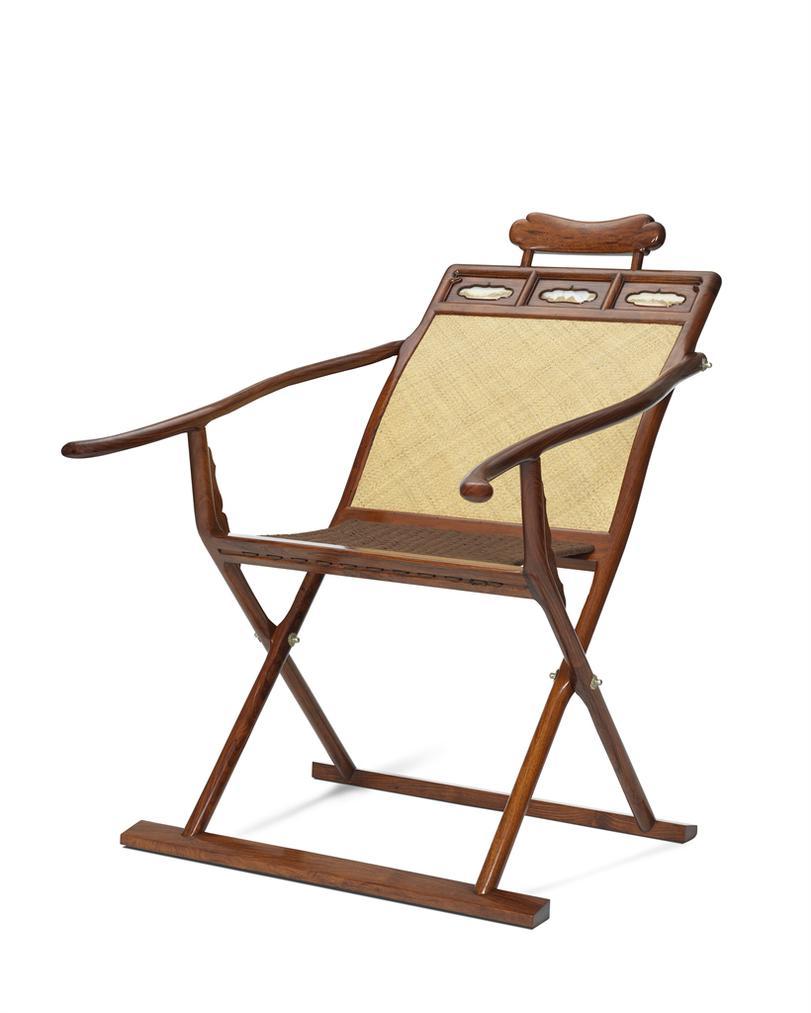 Ou Shengchun - A Huanghuali Deck Chair Tangyi-2017