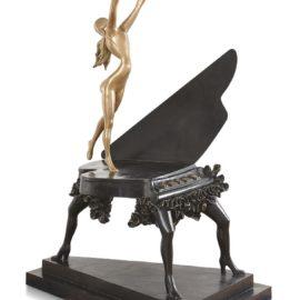 Salvador Dali-Piano Surrealiste-1954