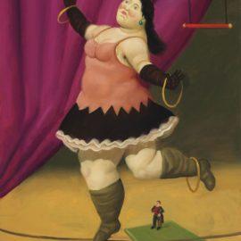 Fernando Botero-Tightrope Walker-2007